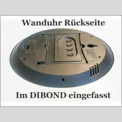 6121 Dixtime Digital Designer Wanduhr, Moderne Wohnraumuhr 35x100cm