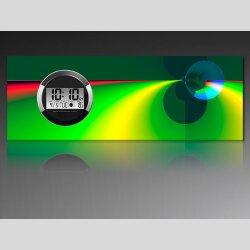 6124 Dixtime Digital Designer Wanduhr, Moderne...