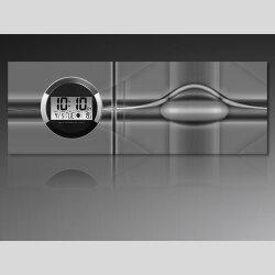 6125 Dixtime Digital Designer Wanduhr, Moderne...