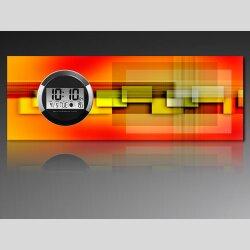 6127 Dixtime Digital Designer Wanduhr, Moderne...