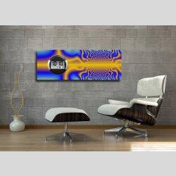 6128 Dixtime Digital Designer Wanduhr, Moderne...