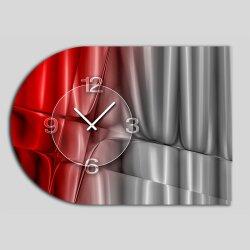 6134 Dixtime Designer Wanduhr, Moderne Wohnraumuhr...