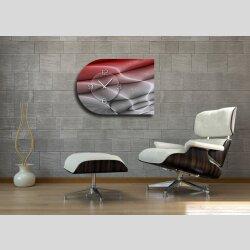 6135 Dixtime Designer Wanduhr, Moderne Wohnraumuhr...