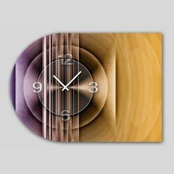 6137 Dixtime Designer Wanduhr, Moderne Wohnraumuhr...
