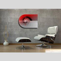 6138 Dixtime Designer Wanduhr, Moderne Wohnraumuhr...
