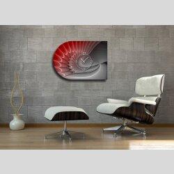 6139 Dixtime Designer Wanduhr, Moderne Wohnraumuhr...