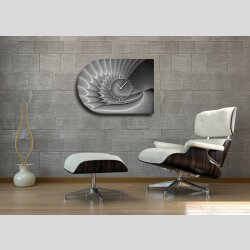 6140 Dixtime Designer Wanduhr, Moderne Wohnraumuhr...