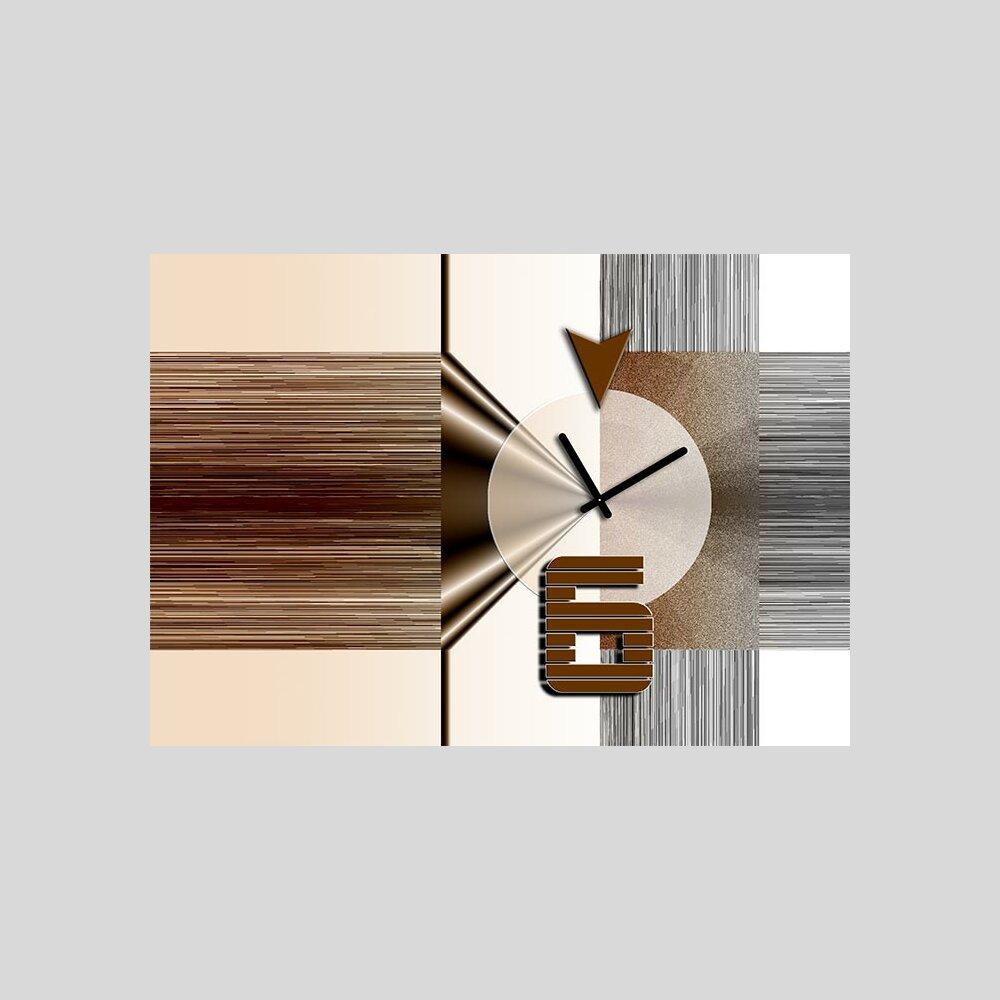 Dixtime designer wanduhr von 123kunst de