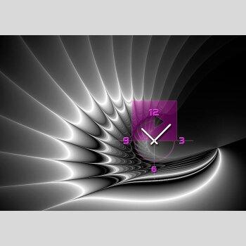 Moderne Uhr dixtime designer wanduhr 123kunst de