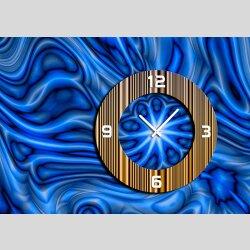 6071 Dixtime Designer Wanduhr, Wanduhren, Moderne...