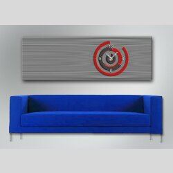 5045 Dixtime Designer Wanduhr, Wanduhren, Bürouhr