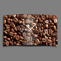 Kaffebohnen Designer Wanduhr modernes Wanduhren Design...