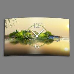 Asia Pagoden Designer Wanduhr modernes Wanduhren Design...