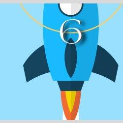 Kinder-Wanduhr Rakete mit persönlichem Namen leise kein ticken DIXTIME 3D-0802