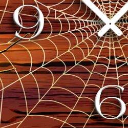 Spinnennetz Designer Wanduhr modernes Wanduhren Design leise kein ticken  dixtime 3D-0119
