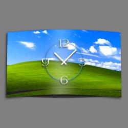 Landschaft Designer Wanduhr modernes Wanduhren Design leise kein ticken dixtime 3D-0116