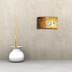 römische Zahlen Designer Wanduhr modernes Wanduhren Design leise kein ticken dixtime 3D-0110