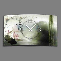 Asia Lotus Designer Wanduhr modernes Wanduhren Design...