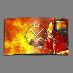 Feuerwehr Designer Wanduhr modernes Wanduhren Design...