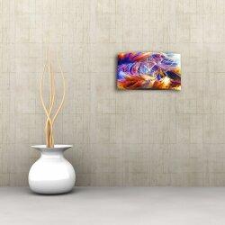 Abstrakt Designer Wanduhr modernes Wanduhren Design leise kein ticken dixtime 3D-0056