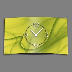 Abstrakt lemon Designer Wanduhr modernes Wanduhren Design...