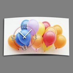 Digital Designer Art Ballons Designer Wanduhr modernes...