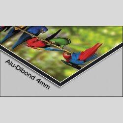 Digital Designer Art blue moon Designer Wanduhr modernes Wanduhren Design leise kein ticken DIXTIME 3DS-0372