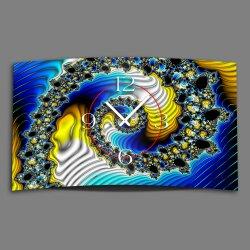 Digital Designer Art psycodelic Designer Wanduhr modernes...