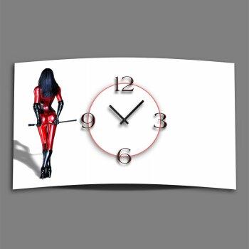 Design Wanduhr designer wanduhr dixtime die mit der wölbung