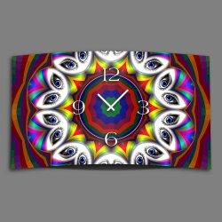Digital Art Augen Designer Wanduhr modernes Wanduhren...