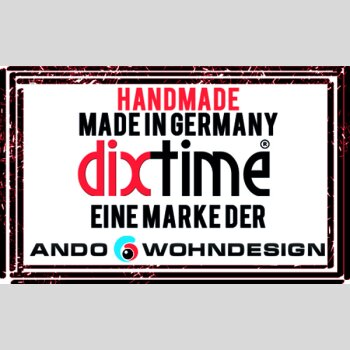 Digital Art grau Designer Wanduhr modernes Wanduhren Design leise kein ticken DIXTIME 3DS-0280