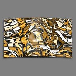 Abstrakt Schlange Designer Wanduhr modernes Wanduhren...