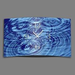 Wasser Qi Yoga Designer Wanduhr modernes Wanduhren Design...