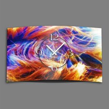 Abstrakt Designer Wanduhr modernes Wanduhren Design leise kein ticken dixtime 3DS-0056