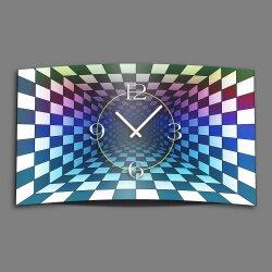 Abstrakt Space Chessboard  Designer Wanduhr modernes...