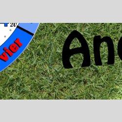 Kinder-Lernuhr Fußball mit persönlichem Namen leise kein ticken DIXTIME 3D-0807