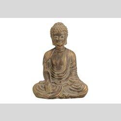 Buddha aus Ton 33cm