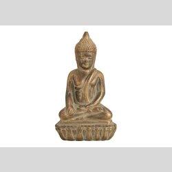 Buddha aus Ton 18cm