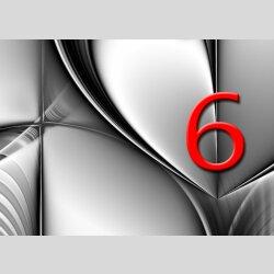Tischuhr 30cmx30cm inkl. Alu-Ständer -abstraktes Design grau geräuschloses Quarzuhrwerk -Wanduhr-Standuhr TU6011 DIXTIME