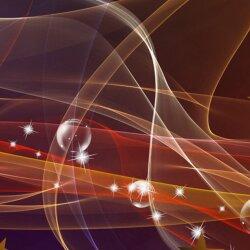 Wanduhr XXL 3D Optik Dixtime abstrakt rot dunkel 30x90 cm leises Uhrwerk GL-006