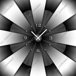 3613 Dixtime Designer Wanduhr, Enigma, quadratische...