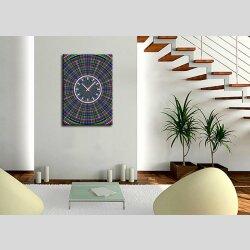 3827 Dixtime Designer Wanduhr, Wanduhren, Moderne Bürouhr  35cm x 50cm